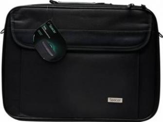 Geanta Laptop Spacer Fritz 16 Black Genti Laptop