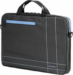 Geanta Laptop Sumdex Continent CC-201 15.6 inch Gri Albastru Genti Laptop