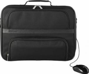 Geanta Laptop Toshiba Essential 16 + Mouse Black