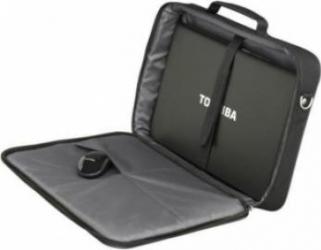 pret preturi Geanta Laptop Toshiba Essential XL 17.3 Black