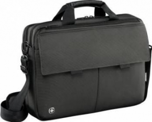 Geanta Laptop Wenger Route 16 inch Black Genti Laptop