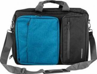 Geanta Notebook Modecom 15.6 inch Albastra Genti Laptop