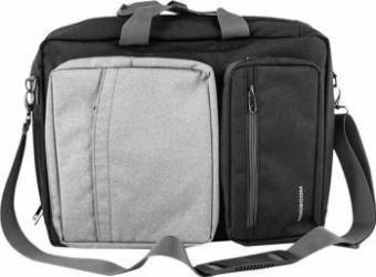 Geanta Notebook Modecom 15.6 inch Gri Genti Laptop
