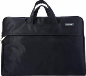 Geanta Laptop Okade T25 Rezistenta la Apa 13.3 inch Neagra + mini GPS Tracker Genti Laptop