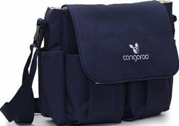 Geanta pentru mamici Cangaroo Pack and Go Albastru