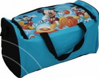 Geanta Sport Mickey Mouse 38x22x19 5 Cm