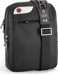 Geanta tablete i-Stay Messanger Bag 10.1inch Neagra Genti Laptop