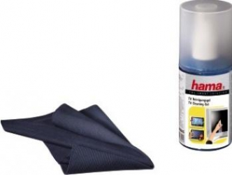 Gel curatare Hama pt ecran LCD Plasma cu laveta XXL Kituri de curatare