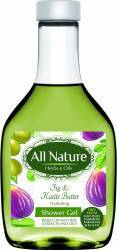 Gel de dus All Nature Fig and Karite butter 255ml Gel de dus, sapun lichid