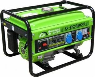 pret preturi Generator de curent benzina monofazat Greenfield G-EC3800 3 kW