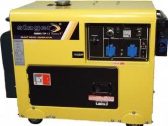 Generator diesel cu automatizare DG 5500S+ATS