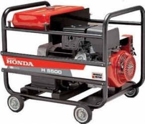 Generator monofazat Anadolu -Powered by Honda H5500MS 4000W