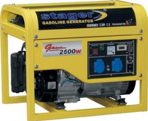 Generator open frame Stager GG 3500
