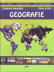 Geografie - Clasa 5 - Caietul elevului - Viorica Blinda Angelica Lusneac