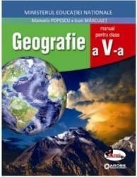 Geografie - Clasa 5 + Cd - Manual - Manuela Popescu Ioan Marculet