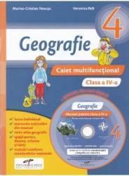 Geografie - Clasa a 4-a - Caiet multifunctional + CD - Marius-Cristian Neacsu Veronica Reh