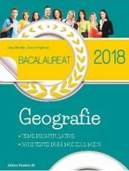 Geografie. Bacalaureat 2018 - Ioan Abrudan Sanda Bulgarean