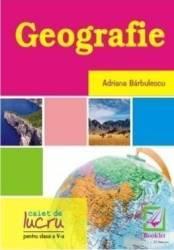 Geografie clasa 5 caiet - Adriana Barbulescu