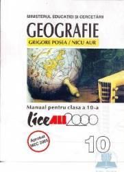 Geografie cls 10 - Grigore Posea Nicu Aur