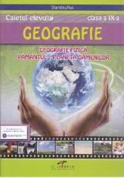 Geografie cls 9 caiet - Dumitru Rus