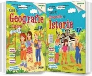 Geografie si Istorie Clasa 4 Caiet Sem.1 - Mihai Manea