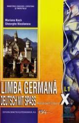 Germana Cls 10 L1 - Deutsch Mit Spass - Marianne Koch Gheorghe Nicolaescu