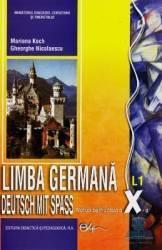 Germana cls 10 L1 ed.2005 - Deutsch mit Spass - Marianne Koch Gheorghe Nicolaescu