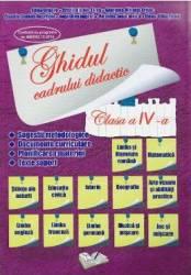 Ghidul cadrului didactic cls 4 - Adina Grigore