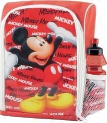 Ghiozdan gradinita Mickey Mouse BBS 121100 cu licenta si sticluta apa inclusa Ghiozdane si trolere