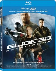 G.I. JOE RETALIATION BluRay 3D + 2D 2013 Filme BluRay 3D
