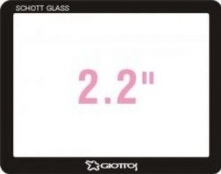 Giottos Professional Glass Optic Screen Protector pentru LCD 2.2 Protectie