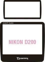 Giottos SP8255 Professional Glass Optic Screen Protector NikonD2