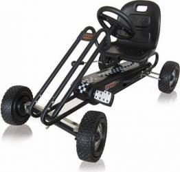 Go Kart Lightning - Titan Black Masinute si vehicule pentru copii