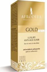 Ser Cosmetica Afrodita Gold 24k Luxury Elixir 30ml Tratamente, serumuri