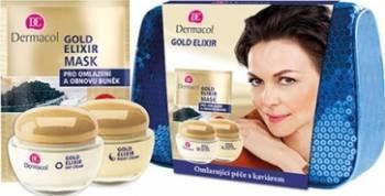 Pachet promo Dermacol Gold Elixir Day Cream + Night Cream
