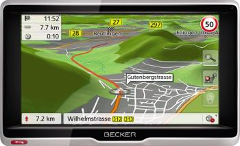 GPS Becker Active 6 LMU TMC + Harta Europa Full