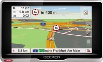 GPS Becker Transit 5 LMU TMC + Harta Europei Navigatie GPS