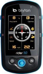 GPS Bryton Rider 50 HR destinat biciclistilor Harta Full Europe