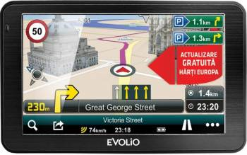 "GPS Evolio Preciso 5 ,5"" , Full Europa Navigatie GPS"