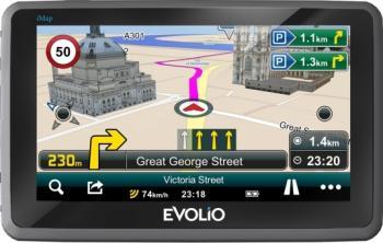 GPS Evolio Preciso Pro HD 5 + Harta Full Europa
