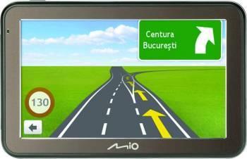 GPS Mio Spirit 7500 LM 5 inch Full Europa Actualizare gratuita pe viata Navigatie GPS