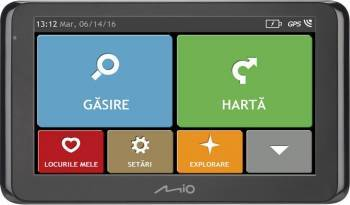 GPS MIO Spirit 8670 LM Navigatie GPS