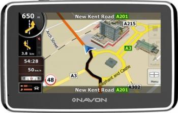 GPS Navon N490 Plus + Harta Europa Full