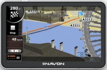 GPS Navon N670 Plus + Harta Europa Full