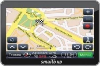 GPS Smailo HD 4.3 Fara Harta