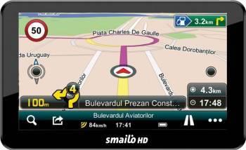 GPS Smailo HD 7.0 Full Eu LMU, Full Europa Navigatie GPS