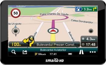 GPS Smailo HD 7.0 LMU Fara Harta Navigatie GPS