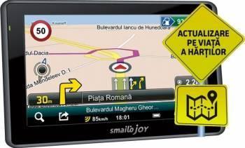 GPS Smailo Joy 4.3 Full Europa LMU Actualizari gratuite pe viata Navigatie GPS