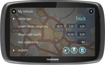 GPS TomTom Trucker 5000 Navigatie GPS