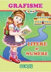 Grafisme Litere si numere Carti